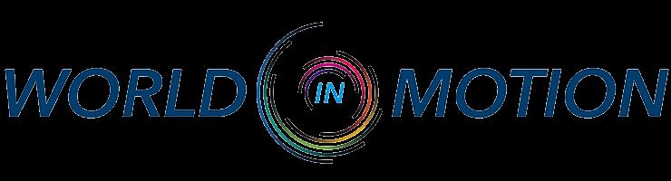 World in motion logo
